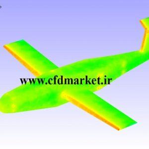 شبیه سازی آکوستیکی عبور جریان هوا از اطراف هواپیما