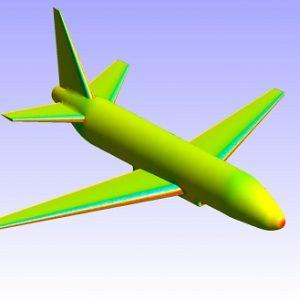 شبیه سازی عددی جریان ایرودینامیک اطراف هواپیمای مسافربری