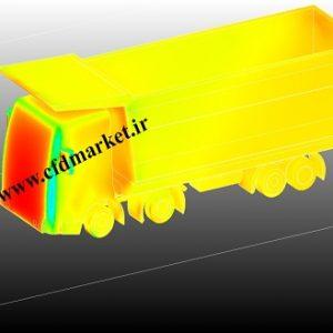 شبیه سازی آیرودینامیکی کامیون و محاسبه نیروی درگ