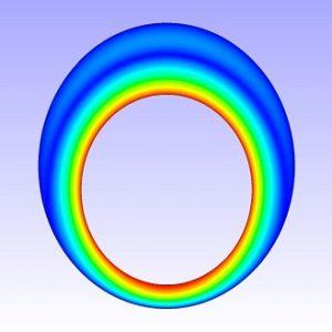 شبیه سازی جریان سیال غیرنیوتنی درون لوله
