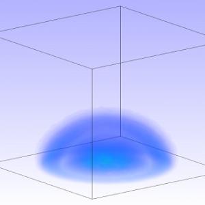 شبیه سازی امواج شوک حاصل از انفجار مخزن فشار بالا