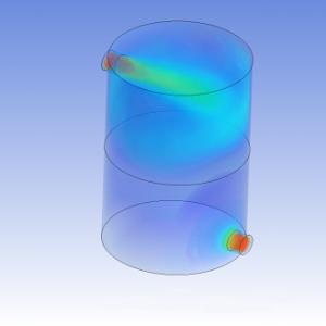 شبیه سازی محیط متخلخل سه بعدی